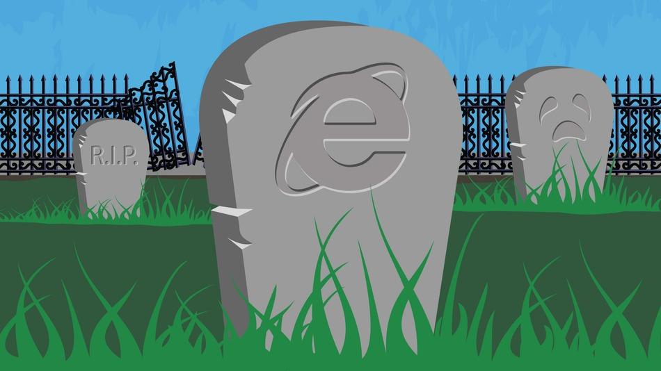 La fin d'internet explorer